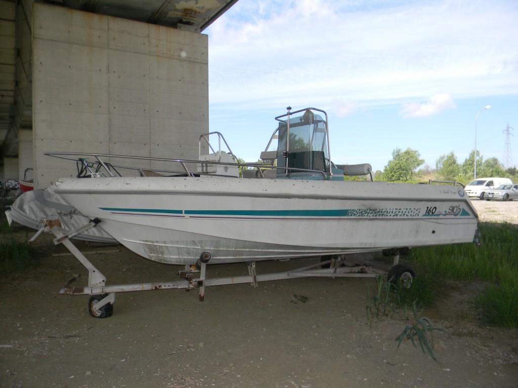 Barca GIO 160 – 5 mt – consolle centrale