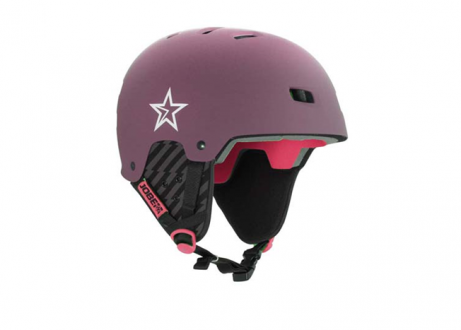 Casco Bordeaux Red Jobe